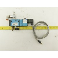 MAC 811C-PM-591NA-150 Pneumatic Air Solenoid Control Valve 24VDC