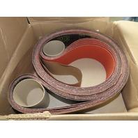 3M 777F Sanding Abrasive Belt Film-Lok 36 Grade 3 IN/PO x 168 IN/PO - Lot of 25