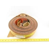 3M 777F Sanding Abrasive Belt Film-Lok 36 Grade 3 IN/PO x 168 IN/PO - Lot of 28