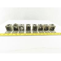 GE DXLCA41 2-600 MCM 1/0-250 MCM Aluminum Wire Lug Block Lot Of 8