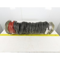 """AS38386C2B010L 8"""" ID Wire Wound Air Duct Portable AC Unit Flexible Hose 10'"""