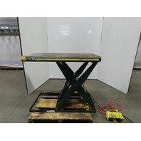 "Southworth LL1.5-35 Hydraulic Scissor Lift Table 1500lb 48x24"" 115V Single Phase"
