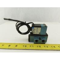 MAC 912B-PM-611CA Pneumatic Solenoid Valve 25-150PSI W/PME-611DAAA 24V Coil