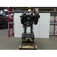 "Johnson 60BG 60 Ton OBI Punch Press 6"" Stroke 10"" Throat Mechanical Foot Trip"