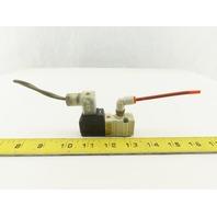 SMC NVKF333-5DZ-01T 2/2 Position Pneumatic Solenoid Directional Valve 24VDC Coil
