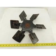 """Ingersoll Rand 14"""" Across 6 Blade Heavy Steel Direct Mount Aftercooler Fan Blade"""