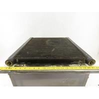 "Ingersoll Rand 1E3234C 20-1/4 x 17-3/4"" Finned Aluminum Cooler Plate 3/4"" Ports"