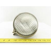 KD866 SAE F69 Vintage Rat Rod Glass Globe Fog Head Light 12.8V