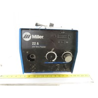 Miller 300615 Model 22A 24V 75-750 FPM MIG Welding Wire Feeder