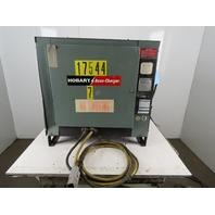 Hobart 1050C3-18 Forklift Battery Charger 36VDC 210A Out 18 Cell 208-240/480V
