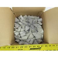ACT Ceramic Tumbling  Media 1-7/8 x 7/8 Type P Triangular 50lbs