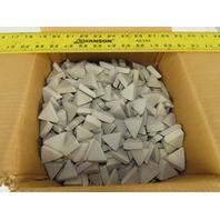 ACT Ceramic Tumbling  Media 1-1/2 x 1/2 Type P Triangular 50lbs