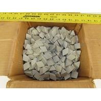 ACT Ceramic Tumbling  Media 1-1/8 x 1-1/8 Type P Triangular 50lbs