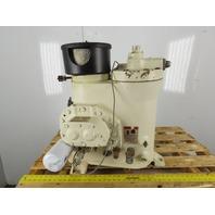 Compact Air Compressor Pump Separator Cooling Pump Combo