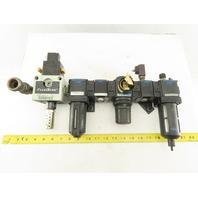 "Wilkerson F18-04-SLC0 R18-04-F0G0 1/2"" Air Pressure Regulator Filter 170 PSI"