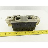 ILSCO D3121 750 MCM-1/0 Single Pole Cable Lug DIN Mount