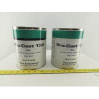 Freeman Pro-Cast  132 Fast Cast Polyurethane 2 Part System Resin 10lbs. Gray