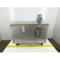 Graymills IMV25-F 46 Gal. Stainless Steel Tank & 1/4Hp Coolant Pump 230/460V 3Ph