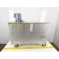 Graymills IMV25-F 46 Gal. Stainless Steel Tank W/1/4Hp Coolant Pump 230/460V 3Ph