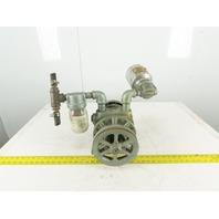 Gast 3040-V115A Rotary Vane Vacuum Compressor Pump 40 ft³/Min 10PSI