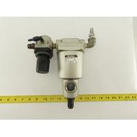 SMC AM350-03BD-R Airline Mist Separator Pressure Regulator 1.0MPa