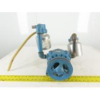 Gast 1550-V173 Rotary Vane Vacuum Compressor Pump Missing Fan