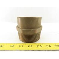 """3"""" Sweat Copper x 3"""" Male NPT Adapter"""