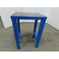 "2"" Thick Top Steel Machine Base Welding Table Work Bench 24""x19""x36"""