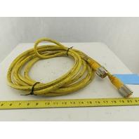 "Turck RSM RKM 126-6M 12 Pin Male Female 1-1/8"" Connector Cord Set 6m"