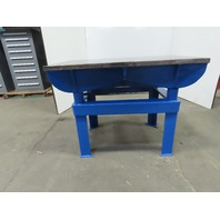 "1-3/8"" Webbed Cast Iron Lay Out/Jig/Welding/Work Table Bench 48-3/8""x30-1/4""x36"""