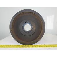 "Martin SPB400-4-3535 400mm 16"" OD 4 Groove 3535 Taper Bore V-Belt Pulley"