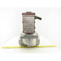 """ITT AH13B112A4 120V 60Hz 1s Close Hydramotor Gas Valve 2-1/2"""""""