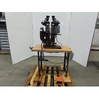 "Chicago Rivet & Machine Co. 55-364 Bench Top Riveter Self Feed 6"" Throat 115V"