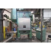 """L&J Press Corp PM2-100 100 Ton High Speed Straight Side Press 36x24 2"""" Stroke"""