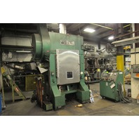 "Elkhart Press EP2-100 100 Ton High Speed Straight Side Press 36x24 2"" Stroke"