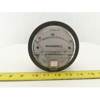 Dwyer W48F Magnehelic 0-150 Lbs./min Air Flow Meter Gauge Panel Mount