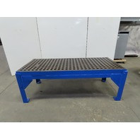 "Weldsale Acorn 3'x7' Heavy Duty Cast iron Platen Welding Table W/30"" Stand"