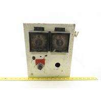 "Hoffman 12 X 10 X 8"" Type 12 Electrical Enclosure J-Box W/ Timers"