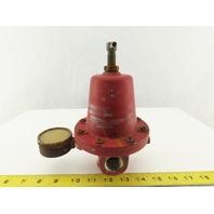 """Rego 1586MN 100PSI Inlet 0-30PSI Outlet LP Gas Regulator 3/4"""" NPT"""
