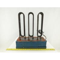 2500 Watt 266V Each 3 Pass 3 Heating Element Bank Terminal Box