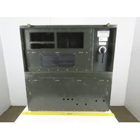 """Electrical Enclosure 40""""x42""""x9"""" W/Black Plate & Square D 250A Breaker W/Operator"""