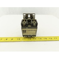General Electric CR353AC2BA1 30A 2 pole Contactor 120V Coil