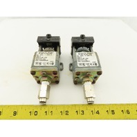 Square D 9012 GRO-5 Electro Mechanical Pressure Switch Lot of 2