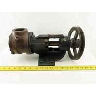 """Viking HL4125 30 GPM 200 PSI Cast Iron Gear Pump 1-1/2"""" Ports"""