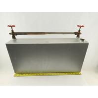 "24"" Tall x 5"" Wide 11-1/2"" Long 6 Gallon Liquid Reservoir Level Gage 3/4"" NPT"