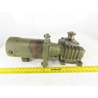 Makishinko Type 70 Model SKK FX 20:1 Right Angle Gear Reducer DC Motor