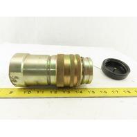 "CEJN Series 855 Hydraulic Female Steel Quick Coupler 1-1/2"" NPT"