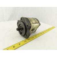 """Bosch 0510 625 346 External Gear Hydraulic Pump 5/8"""" 9T Spline Shaft"""