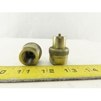 Enerpac CH604 Coupler Nipple 3/8-18 Body Steel 10,000 PSI  Lot of 2