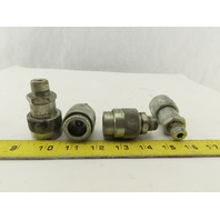 """Enerpac Steel Female Hydraulic Quick Connect Coupling 3/8"""" Lot of 4"""